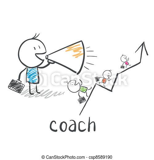教練, 教練, 事務 - csp8589190