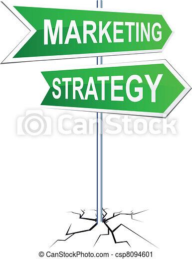 方向, marketing-strategy, 徵候。 - csp8094601