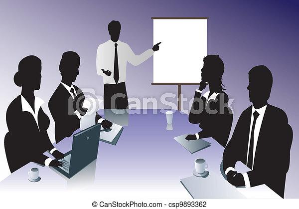 會議, 事務 - csp9893362