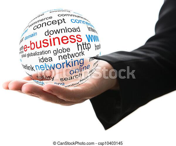 概念, 事務, 網際網路 - csp10403145