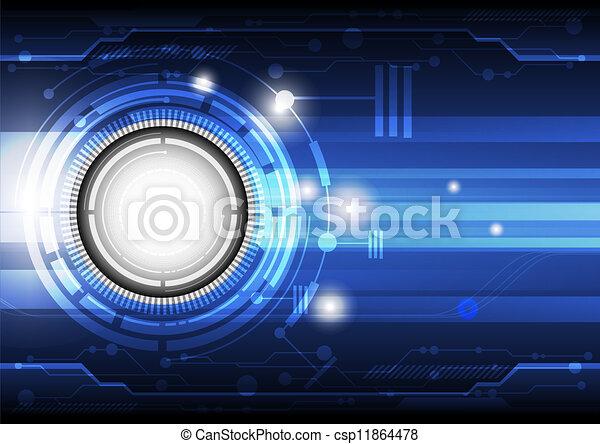 概念, 技術, 背景 - csp11864478