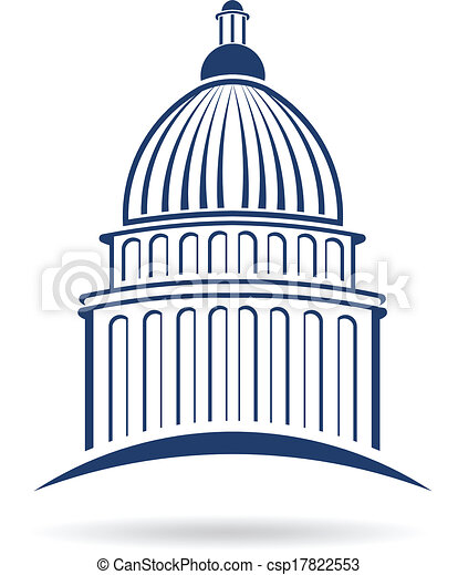 標識語, cupula, 州議會大廈 - csp17822553