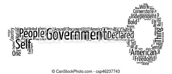 正文, 基石, 政府, 背景, 詞, 雲, 概念 - csp46237743