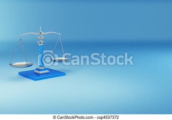 正義, scale., 符號 - csp4537372
