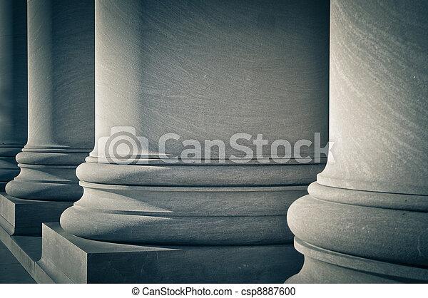 法律, 柱子, 教育, 政府 - csp8887600
