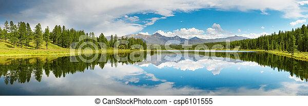 湖, 山 - csp6101555