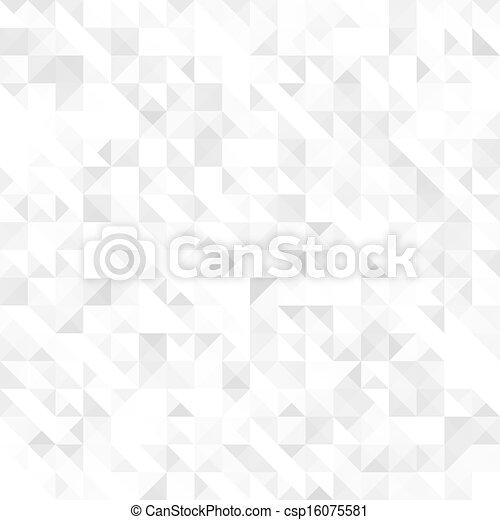 灰色, 幾何學, seamless, 結構 - csp16075581