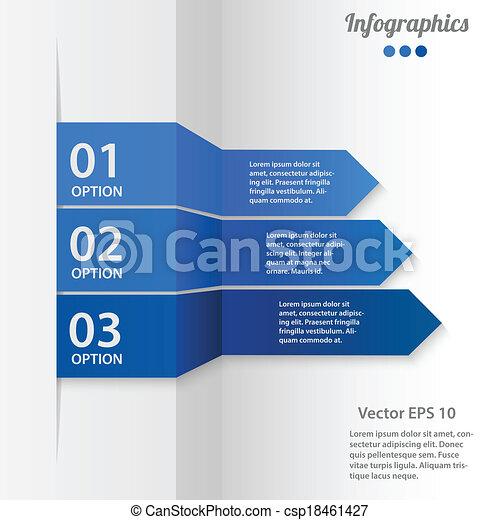 矢量, 商業描述, infographics - csp18461427