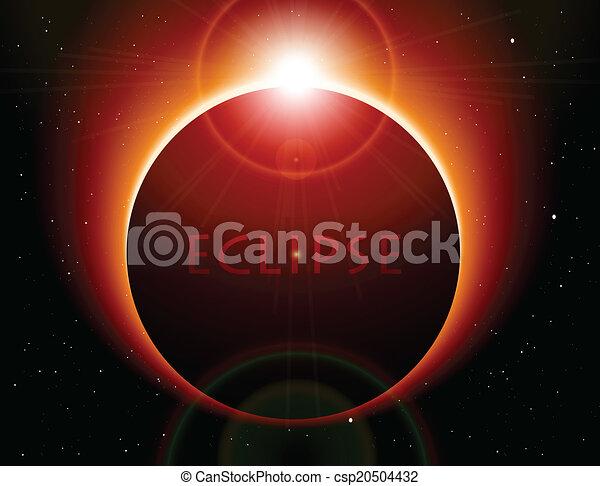矢量, 日蝕 - csp20504432