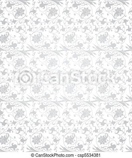 矢量, pattern., seamless, 插圖 - csp5534381