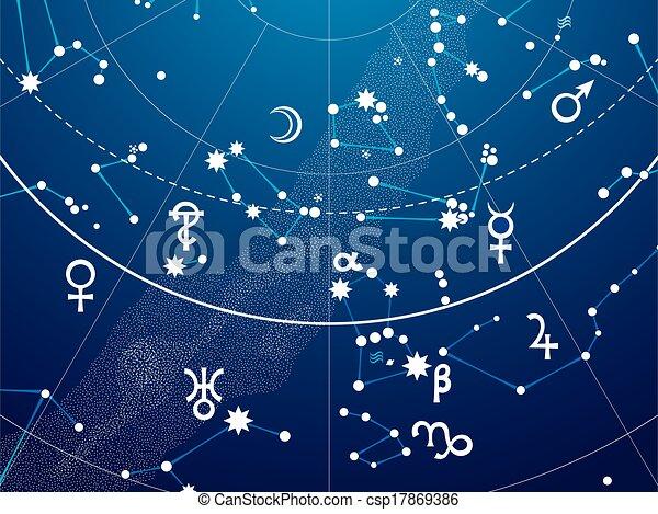 碎片, 地圖集, 天文學, 天上 - csp17869386