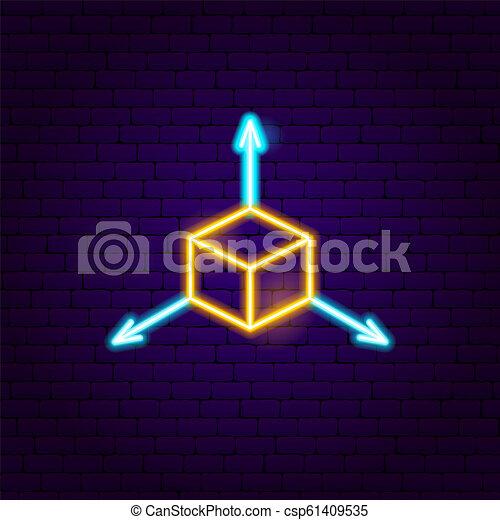 立方, 氖徵候 - csp61409535
