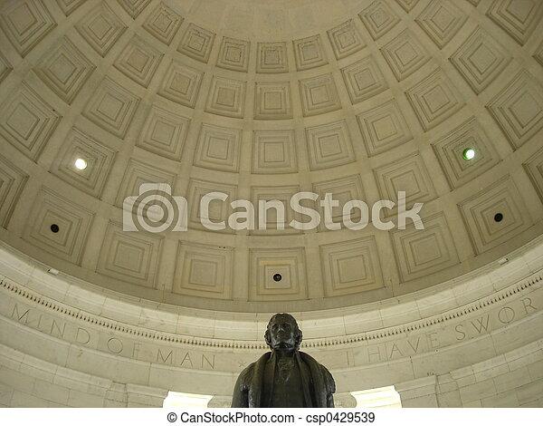 紀念館, jefferson - csp0429539