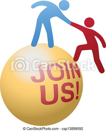 網站, 人們, 加入, 幫助, 社會 - csp13899092