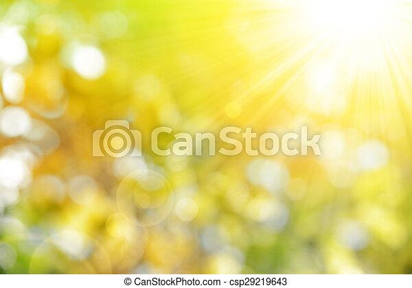 背景, 秋天, 自然 - csp29219643