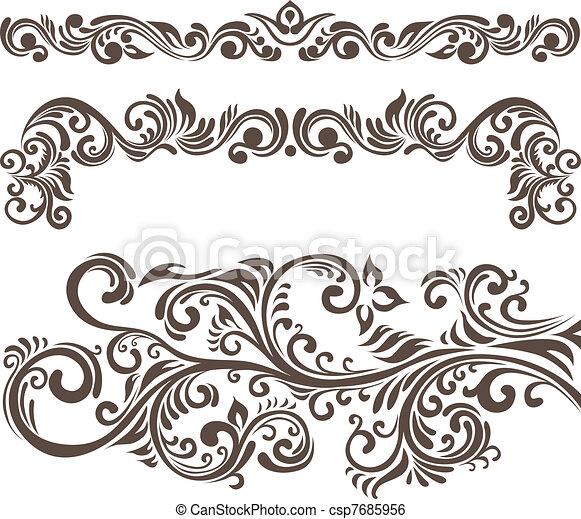 花的要素, 設計 - csp7685956