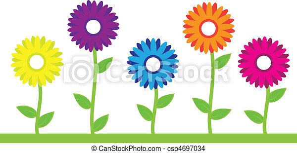 花, 鮮艷 - csp4697034