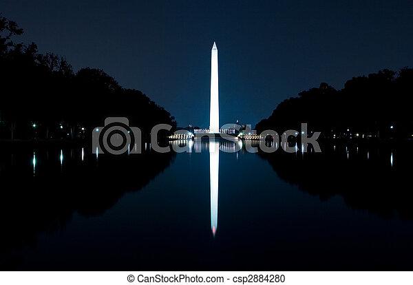 華盛頓紀念碑 - csp2884280