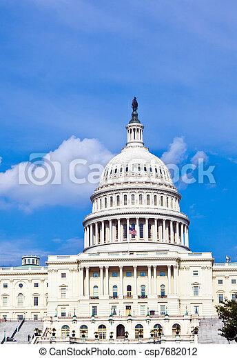 華盛頓, 我們, dc, 州議會大廈 - csp7682012