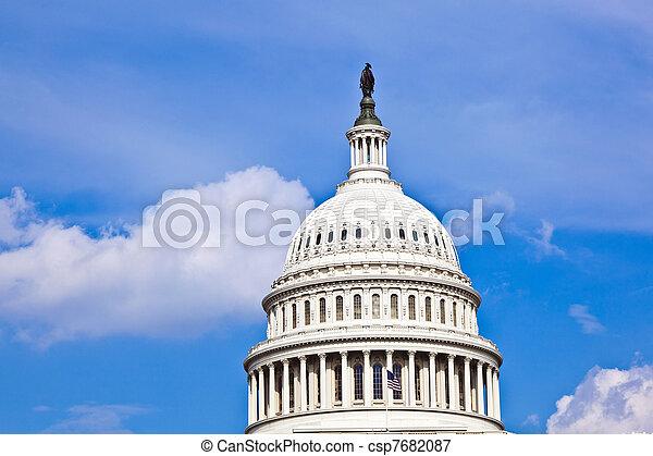 華盛頓, 我們, dc, 州議會大廈 - csp7682087