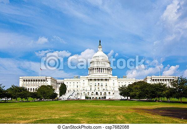 華盛頓, 我們, dc, 州議會大廈 - csp7682088