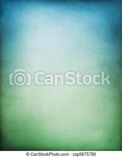 藍綠色, 背景 - csp5675780