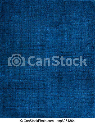 藍色, 布, 背景 - csp6264864