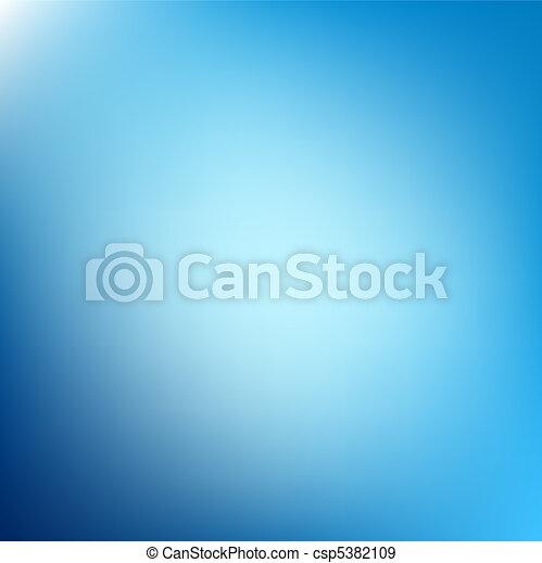 藍色, 摘要, 背景, 牆紙 - csp5382109