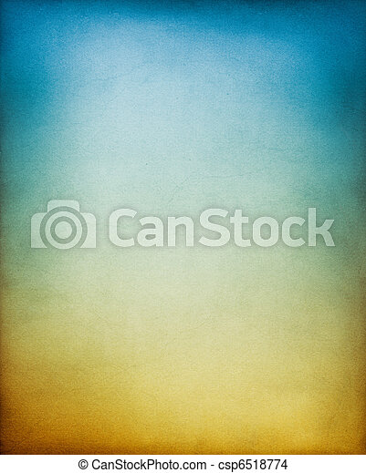 藍色, 棕色的背景 - csp6518774