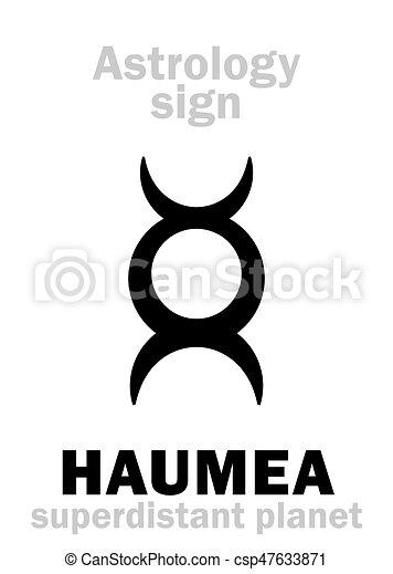 行星, astrology:, haumea - csp47633871