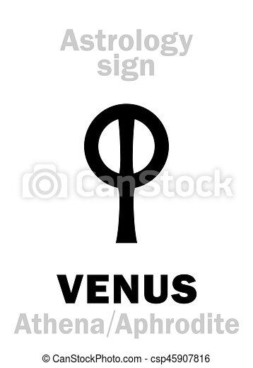 行星, astrology:, venus - csp45907816