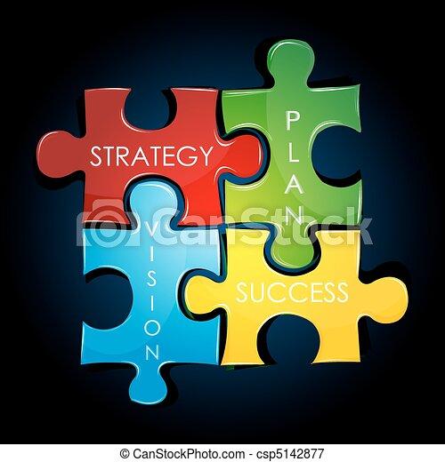 計劃, 戰略, 事務 - csp5142877