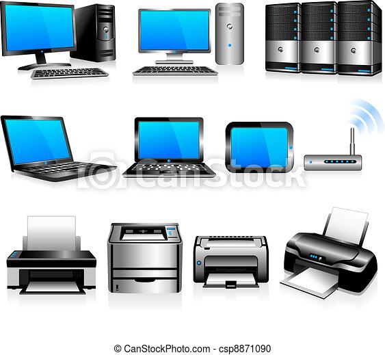 計算机, 技術, 打印机 - csp8871090