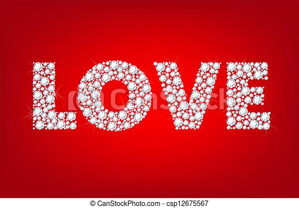 詞, 愛 - csp12675567
