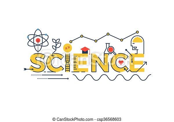 詞, 插圖, 科學 - csp36568603