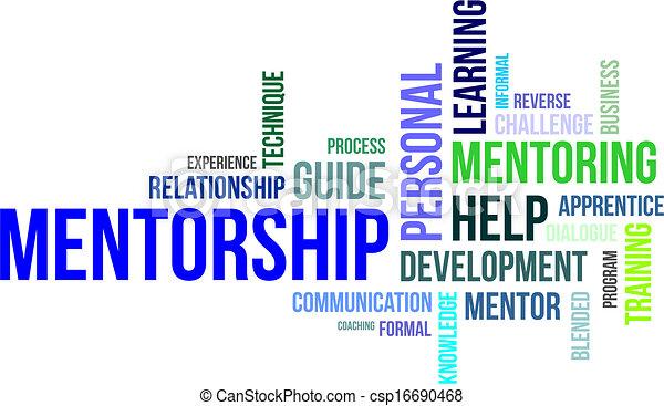 詞, mentorship, -, 雲 - csp16690468