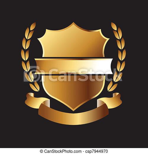 金色的海豹 - csp7944970