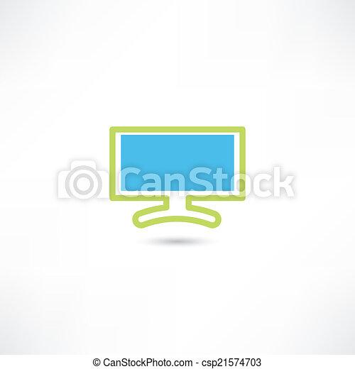 電腦監視器 - csp21574703