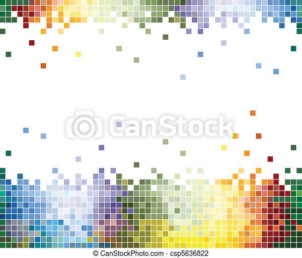 顏色, 摘要, 像素, 背景 - csp5636822