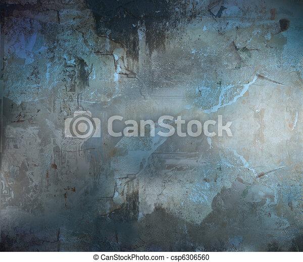 黑暗, 摘要, grunge, 背景, textured - csp6306560