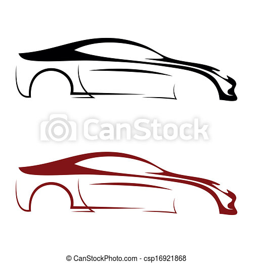 calligraphic, 汽車, 理念 - csp16921868