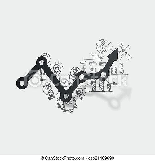 formulas:, 圖畫, 事務, 圖表 - csp21409690