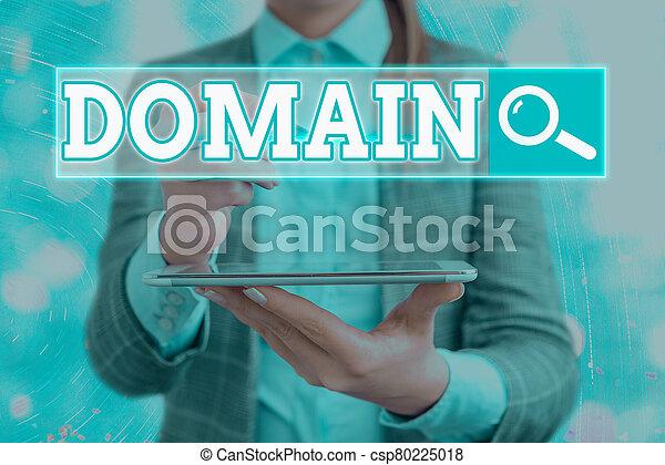 government., 概念性, 相片, 正文, 區域, 簽署, 控制, 特殊, 地域, 統治者, domain., 或者, 顯示 - csp80225018