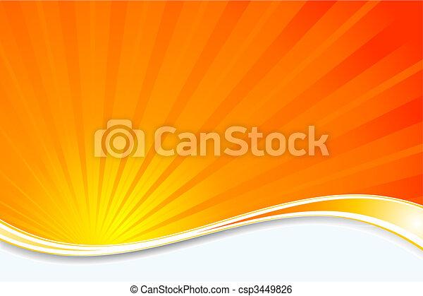 sunburst, 背景 - csp3449826